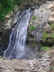 Lokasi Potensi Wisata Desa Kalirejo berupa Air Terjun